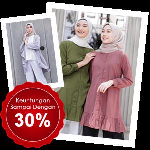 Reseller Fashion Muslimah